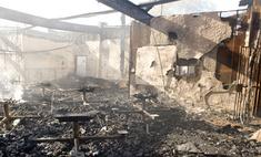 На севере Ирака сгорел отель, погибли 40 человек
