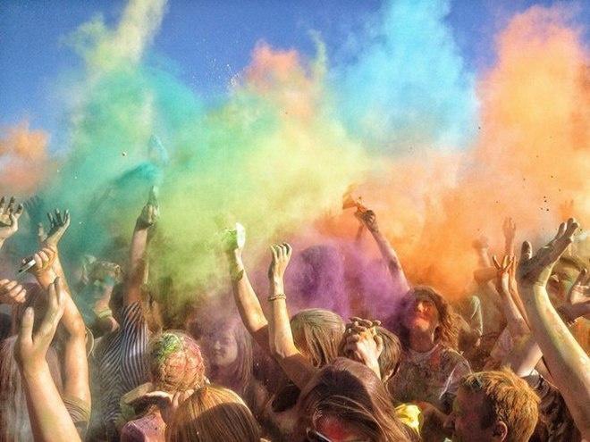 Фестиваль красок – 2015 Холи в Воронеже. Фото