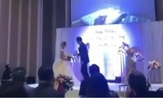 жених время свадьбы показал видео котором невеста изменяет