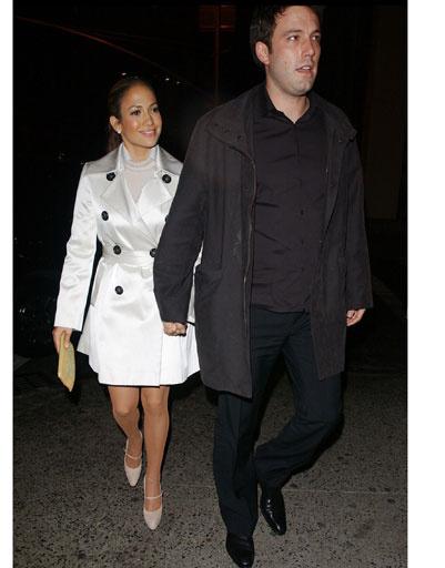 Дженнифер Лопес (Jennifer Lopez) и Бен Аффлек (Ben Affleck)
