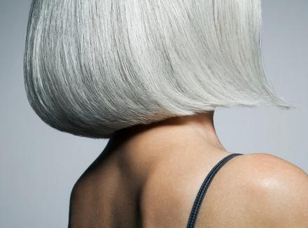 «Я люблю свои седые волосы»