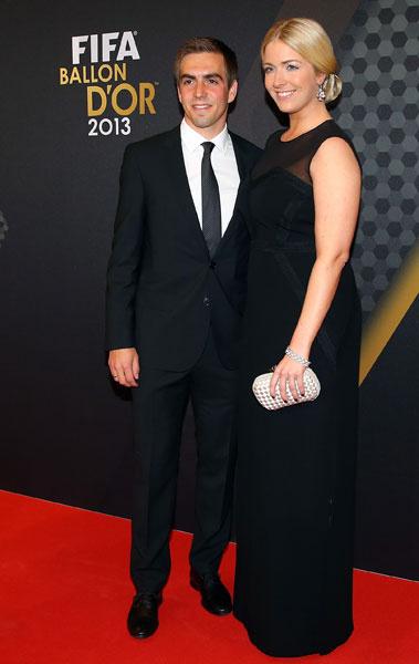 Филипп Лам и Клаудия Шаттенберг, 2014 год