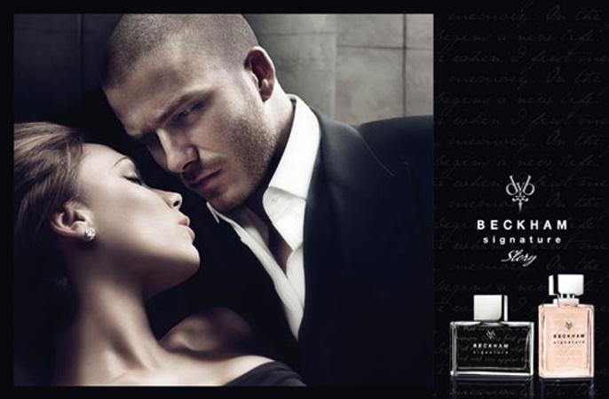 В рекламной кампании Beckham Signature