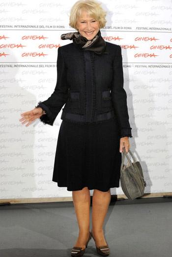 Работа над новым фильмом заставила актрису Хелен Мирен отклонить приглашение Елизаветы II на ужин
