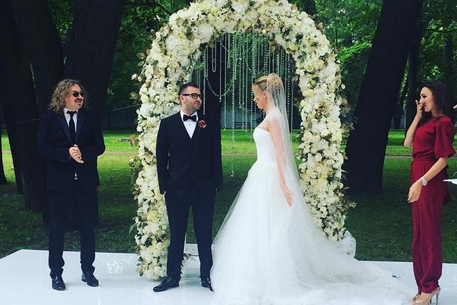 Игорь Николаев стал свидетелем на свадьбе в Петербурге