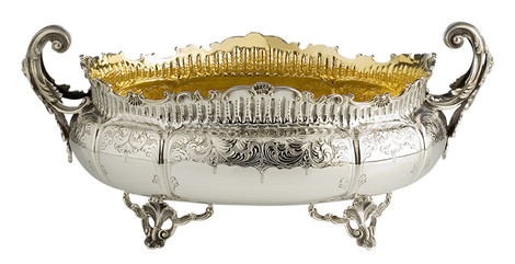 Серебряная чаша, Schiavon, «Дом Фарфора».
