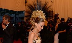 Сара Джессика Паркер появилась с ирокезом на балу Met Gala 2013