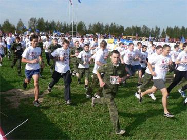 бег в России