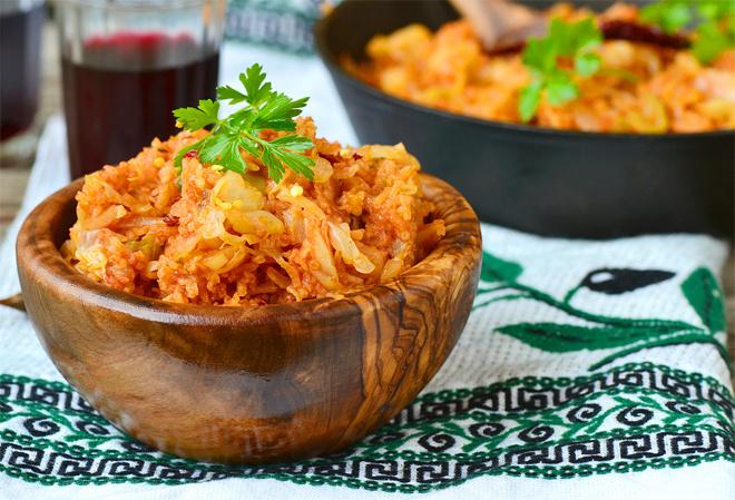 рецепт приготовления тушёной капусты с мясом