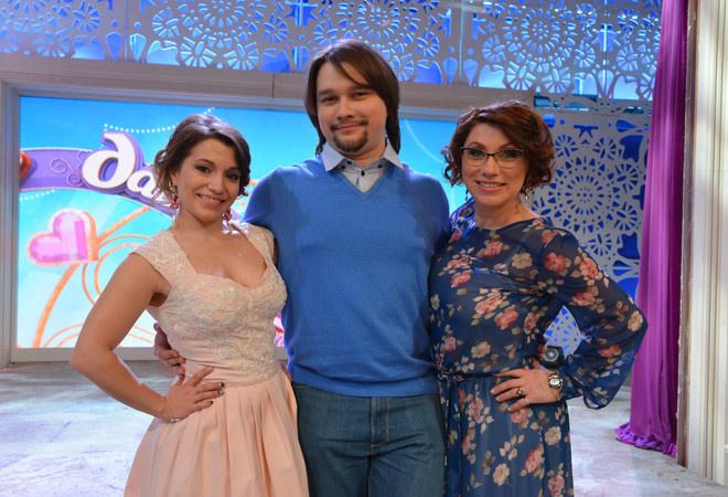 Роза Сябитова с дочкой и сыном фото