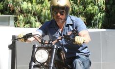 Бред Питт: хочу новый мотоцикл
