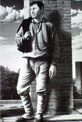 Художник Пейке Кох, картина 1944 года, «Трубочист».