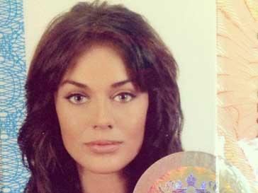 Таня Терешина: фото с загран паспорта