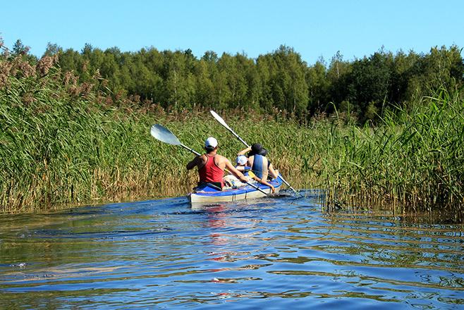 Водные походы на байдарках по Вуоксе: туристическая компания Вуокса-тур