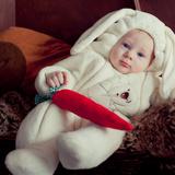Жабин Александр, 8 месяцев, г.Самара, пушистый зайка