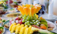 Удивите своих гостей оригинальной и красивой фруктовой нарезкой