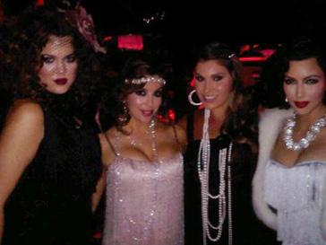 Ева Лонгория (Eva Longoria) и Ким Кардашьян (Kim Kardashian) на вечеринке в Лос-Анджелесе