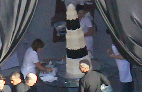 Свадебный торт Ким Кардашьян