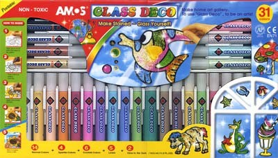 Набор для изготовления витража, AMOS, 700 руб.