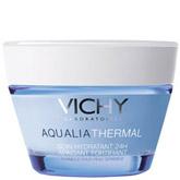 Увлажняющий крем Aqualia Thermal от Vichy имеет легкую текстуру, он быстро насытит кожу влагой.