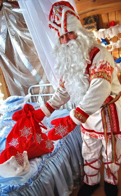 Омск, резиденция Деда Мороза, новый год