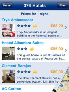 Для бронирования гостиницы достаточно воспользоваться приложением Booking.com.