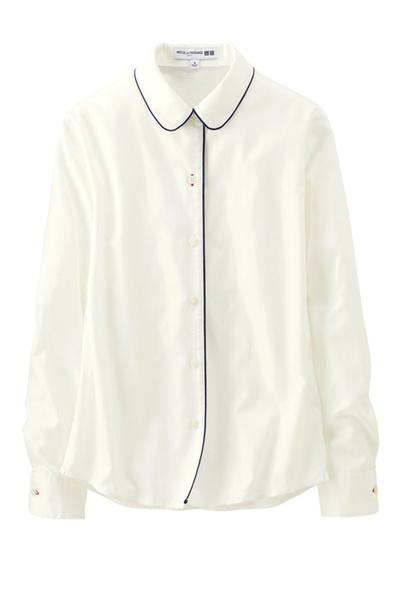 Блуза Ines De La Fressange для Uniqlo