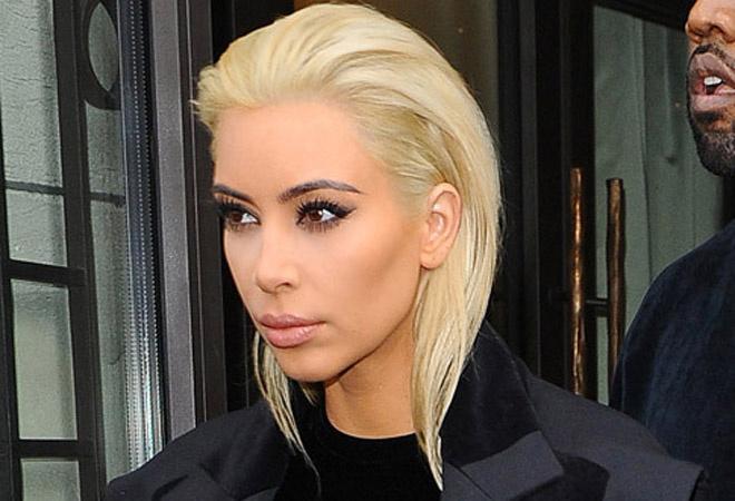 Ким Кардашьян стала блондинкой: фото