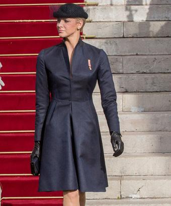 Принцесса Монако Шарлен (Princess Charlene of Monaco), 2012 год