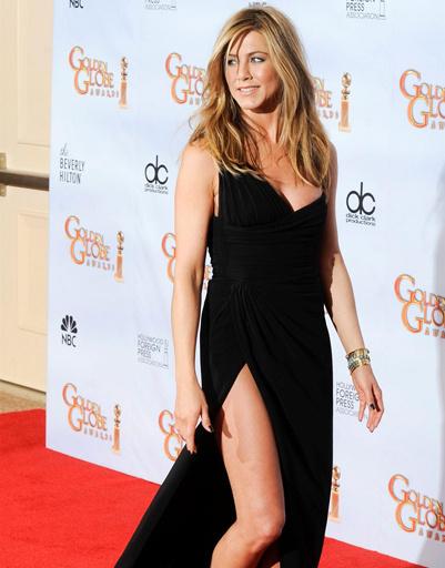 """Дженнифер Энистон (Jennifer Aniston) на """"Золотом Глобусе"""" - 2010"""