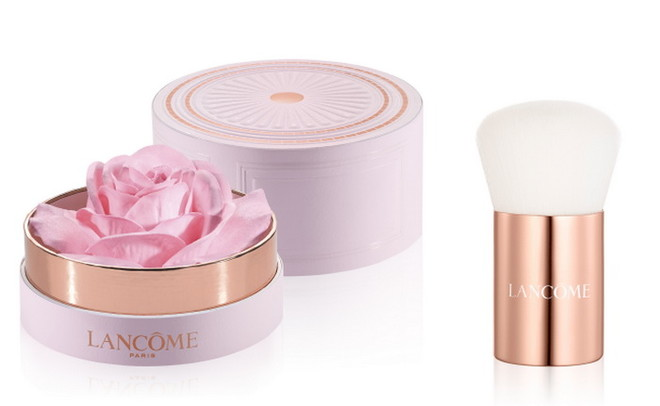 Lancome, La Rose Parisian Powder, хайлайтер в виде розы, цена по запросу