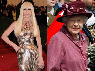 Сшить наряд для королевы Елизаветы II - предел мечтаний Донателлы Версаче (Donatella Versace)