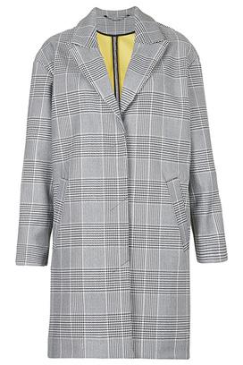 Пальто в стиле удлиненного пиджака