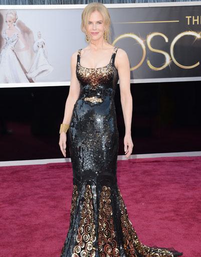 "Николь Кидман (Nicole Kidman) на премии ""Оскар""-2013"