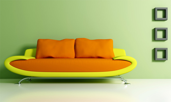 Яркая мебель и аксессуары