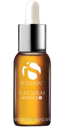 Сыворотка С&E Serum Advanced+, IsClinical уменьшает появление поверхностных и глубоких морщин, восстанавливает сухую кожу, повышает тургор и эластичность.