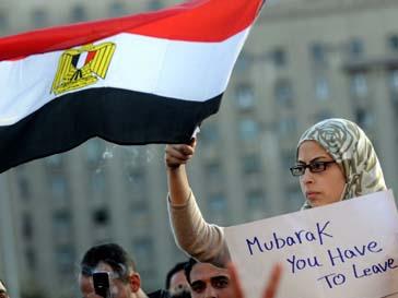 Люди требуют, чтобы призент Египта покинул свой пост до конца недели