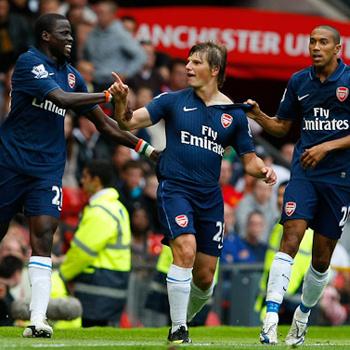 Андрей Аршавин в начале 2009 года надел майку лондонского «Арсенала» и сумел стать одним из его лучших игроков.