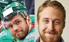 Точь-в-точь: звезды Голливуда, похожие на хоккеистов «Ак Барса»