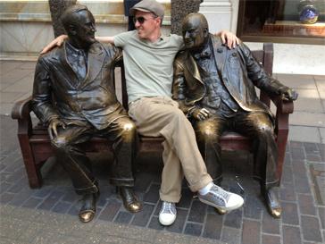Игорь Верник в Лондоне.