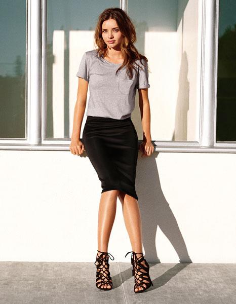 Миранда Керр в рекламной кампании H&M