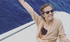 Ксения Собчак носит вышиванку с бикини