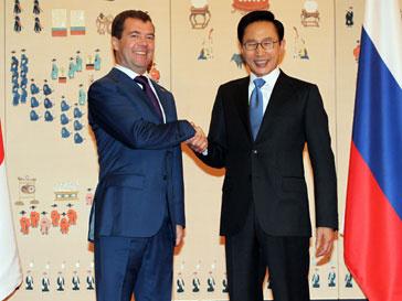 Дмитрий Медведев пришел к ряду договоренностей с Ли Мен Баком