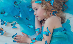 Юная волгоградка в финале Little Top Model of Russia 2015