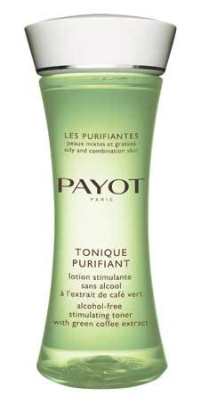 Очищающий тоник без спирта Payot. Снимает воспаления, придает матовость коже.