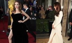 По всей длине: Кейт Миддлтон блеснула разрезом в стиле Джоли