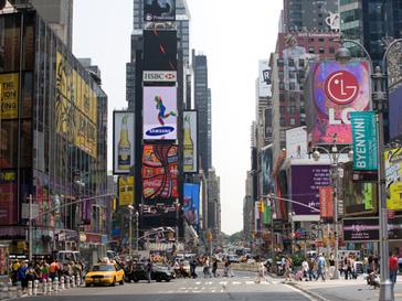 На Таймс-сквер в Нью-Йорке совершен теракт