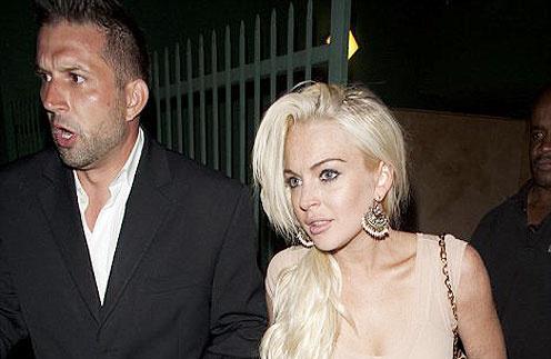 Линдсей Лохан (Lindsay Lohan) и ее новый мужчина
