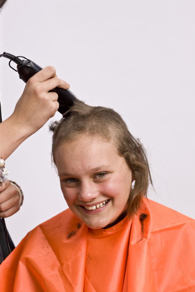 как бриться налысо