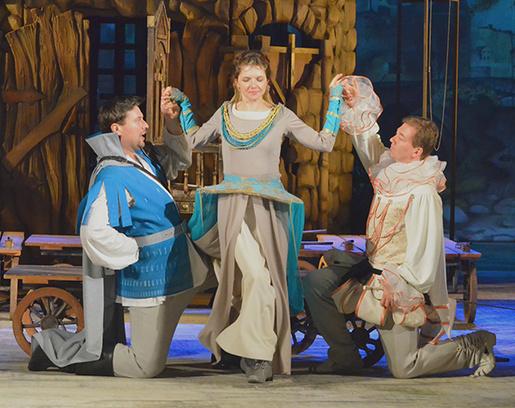 Спектакль «Два веронца» в Калужском драмтеатре